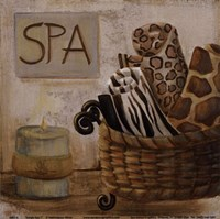 Jungle Spa I Fine Art Print