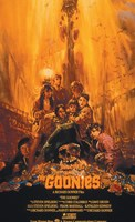 The Goonies - Yellow Framed Print