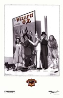 The Wizard of Oz Cast Fine Art Print