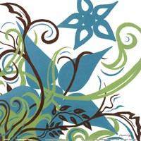 Floral Twist II Fine Art Print