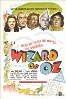 The Wizard of Oz Colorful Fine Art Print