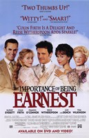 The Importance of Being Earnest Rupert Everett Fine Art Print