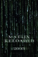 The Matrix Reloaded Logo Fine Art Print
