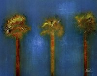 3 Palms I Fine Art Print