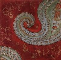 Paisley Wave II Fine Art Print