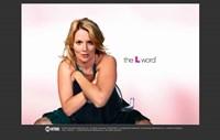 The L Word Tina Kennard Framed Print