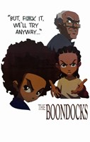 The Boondocks Framed Print