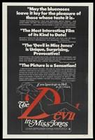 The Devil in Miss Jones - reviews Fine Art Print