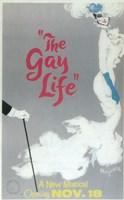 The (Broadway) Gay Life Fine Art Print