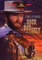 he Good, The Bad, and the Ugly Cartoon Framed Print