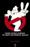 Ghostbusters 2 Logo Fine Art Print