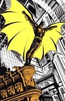 Batman Returns Comic Fine Art Print