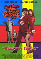 Austin Powers 2: The Spy Who Shagged Me Framed Print