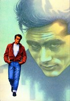 Rebel Without a Cause Jame Dean Graphic Fine Art Print