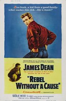 Rebel Without a Cause Blue and Yellow Fine Art Print