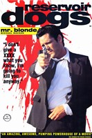 Reservoir Dogs Mr. Blonde Shooting Fine Art Print