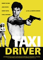 Taxi Driver Black and Yellow Fine Art Print