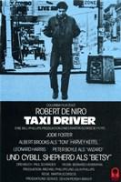 Taxi Driver Blue Fine Art Print