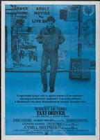 Taxi Driver Dark Blue Fine Art Print