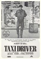Taxi Driver Gray Fine Art Print