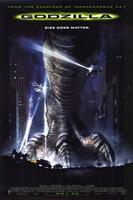 Godzilla Fine Art Print