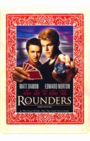 Rounders - Cards Framed Print