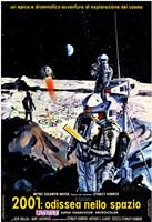 2001: A Space Odyssey Moon Landing Fine Art Print