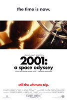 2001: A Space Odyssey the time is now. Framed Print