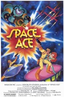 Space Ace - Video Game Fine Art Print