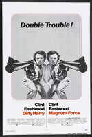 Dirty Harry Double Trouble Fine Art Print