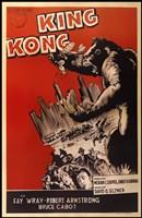 King Kong Red Fine Art Print
