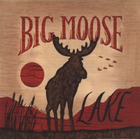Big Moose Lake Fine Art Print