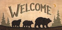 Bear Welcome Fine Art Print