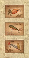Fishing Lures Framed Print