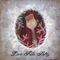 Love Falls Softly Fine Art Print