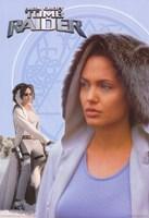 Lara Croft: Tomb Raider Angelina Jolie Fine Art Print