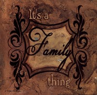 It's a Family Thing Fine Art Print