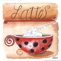 Lattes Fine Art Print