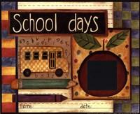 School Days Photomat Fine Art Print