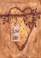 Show Love Fine Art Print