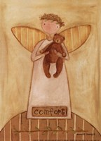 Comfort Angel Framed Print