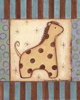 Baby Giraffe Fine Art Print