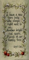 New Born Baby Fine Art Print