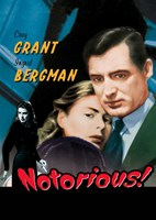 Notorious Grant and Bergman Pop Fine Art Print