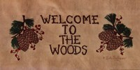 Welcome to the Woods Fine Art Print