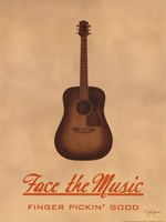 Face The Music Fine Art Print