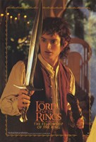 Lord of the Rings: Fellowship of the Ring Frodo with Sword Fine Art Print