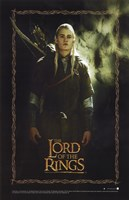 Lord of the Rings: Fellowship of the Ring Legolas Greenleaf Fine Art Print