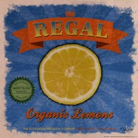 Regal Lemons Fine Art Print