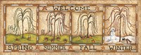 Seasonal Welcome Fine Art Print